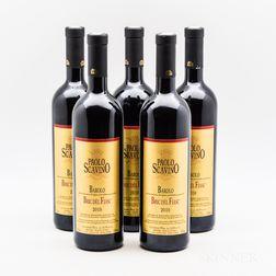 Paolo Scavino Barolo Bric del Fiasc 2010, 5 bottles