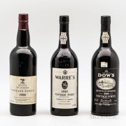 Mixed Vintage Port, 3 bottles
