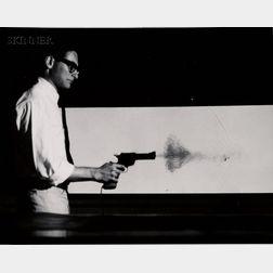 Harold Eugene Edgerton (American, 1903-1990)      Lot of Two Shooting Scenes.