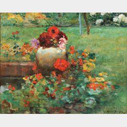 Maurice Bompard (French, 1857-1936)      Garden View
