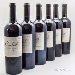 Carlisle Zinfandel, 6 bottles