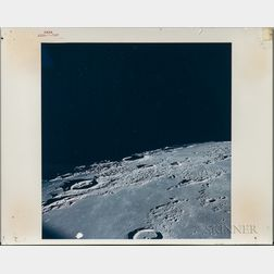 Apollo 12, Four Photographs of the Lunar Surface, November 1969.