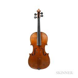 German Violin, Louis Otto, Düsseldorf, 1888