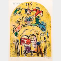 After Marc Chagall (Russian/French, 1887-1985)      The Tribe of Levi