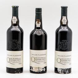 Taylor Fladgate Quinta de Vargellas Vintage Port, 3 bottles