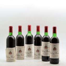 Chateau Musar 1982, 6 bottles