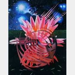 James Rosenquist (American, b. 1933)      Welcome to the Water Planet
