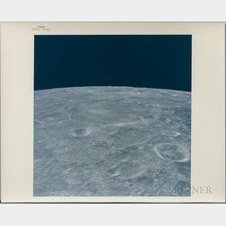 Apollo 12, Three Photographs of the Lunar Surface, November 1969.