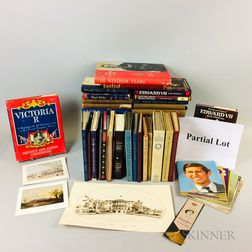 Large Group of British and American Commemorative Ephemera and Books