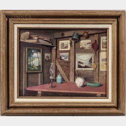 Frederick W. Oliver (American, 1876-1963)      Artist's Studio
