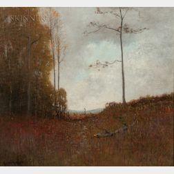 Robertson K. Mygatt (American, 1862-1919)      Fall Tonal Landscape