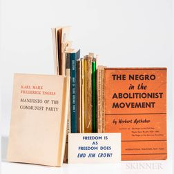 Leftist, Civil Rights, Race Relations, and Communist Pamphlets.