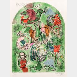 After Marc Chagall (Russian/French, 1887-1985)      The Tribe of Asher