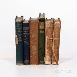 Five 19th Century Literary Works.