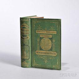 Verne, Jules (1828-1905) Twenty Thousand Leagues Under the Sea.