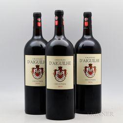 Chateau DAiguilhe 2016, 3 magnums