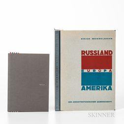 Mendelsohn, Erich (1887-1953) Russland, Europa, Amerika