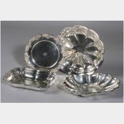 Four American Sterling Silver Serving Dishes