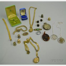 Assorted Victorian and Later Estate and Costume Jewelry