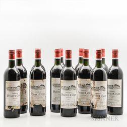 Chateau Pontet Canet 1977, 12 bottles