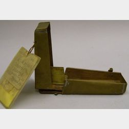 Patent Model of an Animal Trap