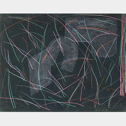 Tom Holland (American, b. 1936)      Untitled Abstract