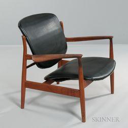 Finn Juhl (Danish, 1912-1989) Lounge Chair