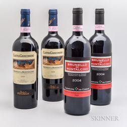 Mixed Brunello di Montalcino, 4 bottles