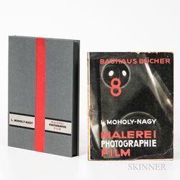 Moholy-Nagy, Laszlo (1895-1946) Malerei Photographie Film.