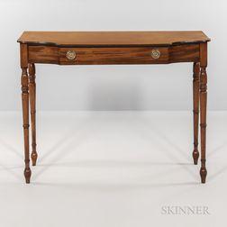 Regency-style Mahogany Side Table