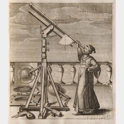 Hevelius, Johannes (1611-1687) Selenographia