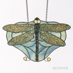 Tiffany Glass Dragonfly Lamp Hanging Ornament