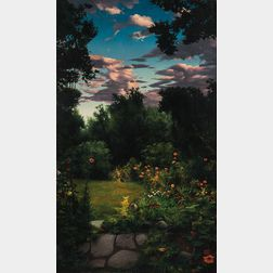 Scott Prior (American, b. 1949)      Garden Path