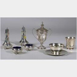 Group of Small Sterling Tablewares