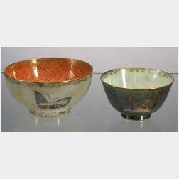 Two Wedgwood Lustre Bowls