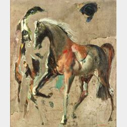 Jon Corbino (Italian/American, 1905-1964)  Centurian's Horse