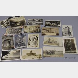 Approximately Sixty-three Early 20th Century Mostly Photographic Postcards