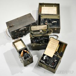 Group of WWII Signal Corps Equipment