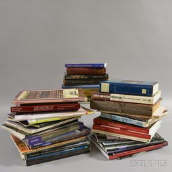 Group of American Furniture and Decorative Arts Reference Books and Auction Catalogs
