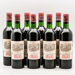 Chateau Lafite Rothschild 1966, 8 bottles