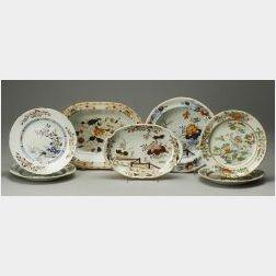 Seven Wedgwood Stone China Dishes