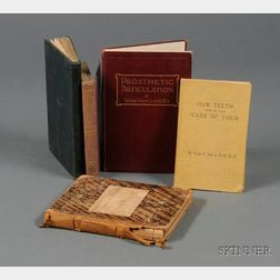 Four Dental Books and 19th Century Harvard Medical School Notes