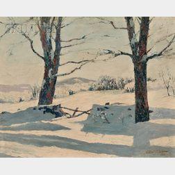 LaMont Adelbert Warner (American, 1876-1970)      Afternoon Light