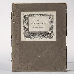 Huard, Charles (1874-1965) War Sketches  , Signed Copy.