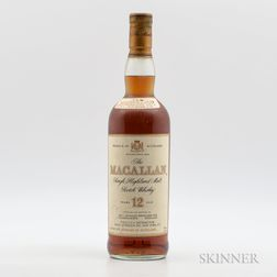 Macallan 12 Years Old, 1 750ml bottle