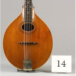 American Mandolin, Gibson Mandolin-Guitar Company, Kalamazoo, 1917, Model A-3
