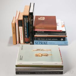 Sixteen Books on Japanese Inro and Netsuke
