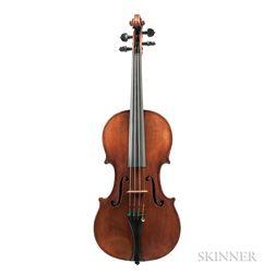 German Violin, Ewald Brückner, Markneukirchen, 1929