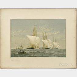 Cozzens, Frederic S. (1846-1928) American Yachts, a Series of Water-Color Sketches.
