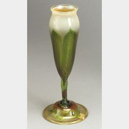 Tiffany Decorated Tulip Floriform Vase